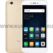 Телефон Xiaomi Redmi 4X 32Gb Gold