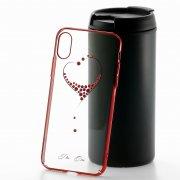 Чехол-накладка Apple iPhone X Kingxbar 173 красный