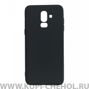 Чехол-накладка Samsung Galaxy A6 Plus (2018) A605f/J8 2018 11010 черный