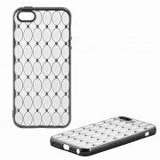 Чехол-накладка Apple iPhone 5/5S/SE 8438 черный