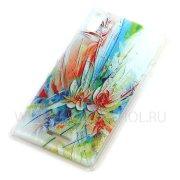 Чехол пластиковый Sony D5103 Xperia T3 Живопись 7830