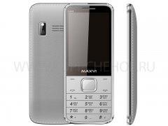 Телефон Maxvi X850 Silver