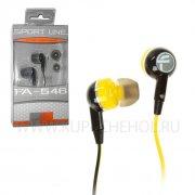Наушники Fischer FA-546 Yellow