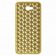 Чехол-накладка Samsung Galaxy J7 Prime 9451 золотой