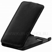Чехол  откид  HTC Des 400 Dual  UpCase  чёрн