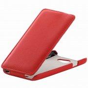 Чехол флип HTC Desire 516 Dual Sim Derbi Full красный