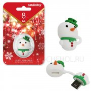 Флеш Smartbuy Snowman 16Gb