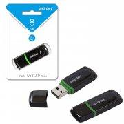 Флеш SmartBuy Paean 8GB Black USB 2.0