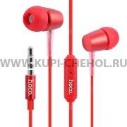 Наушники с микрофоном HOCO M10 Red