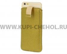 Чехол с внутренним языком Apple iPhone 6 Plus/6S Plus Luxe золотой