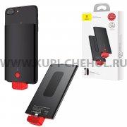 Power Bank 4000 mAh iPhone Baseus ACXNL-BJ02 Black/Red
