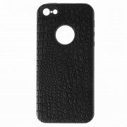 Чехол-накладка Apple iPhone 5/5S 10027 Рептилия чёрный