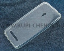 Чехол-накладка ASUS A501CG Zenfone 5 iBox Crystal прозрачный глянцевый 0.5mm