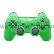 Джойстик Sony Dualshock 3 зелёный