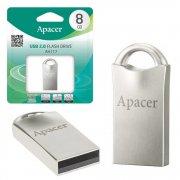Флеш Apacer AH117 8GB Silver USB 2.0