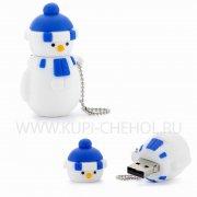 ФЛЕШ Подарочный Снеговик 8GB