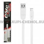 USB - Type-C кабель Remax RC-001a белый