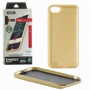 Чехол+АКБ Apple iPhone 7/8 2400 mAh Remax Penen PN-01 Gold