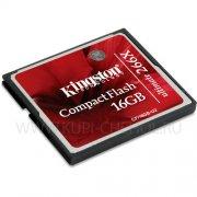CompactFlash 16Gb 266x к/п Kingston