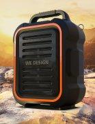 Колонка Bluetooth WK SHD300 Black orange