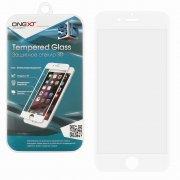 Защитное стекло Apple iPhone 6/6S ONEXT белое 0.3mm