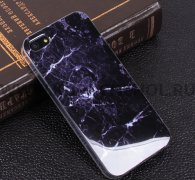 Чехол-накладка Apple iPhone 5/5S Мрамор 10173