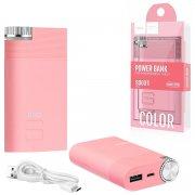 Power Bank 8000 mAh Hoco B30 Pink