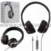 Наушники HOCO W6 Cool Hi Headphone Black
