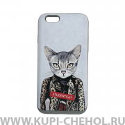 Чехол-накладка Apple iPhone 6/6S Remax Coat RK-087 Studentcat