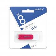 Флеш SmartBuy Diamond 8GB Pink USB 2.0