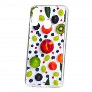 Чехол-накладка Samsung Galaxy A20S Kruche Print Fruits