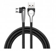 Кабель USB-Micro Baseus MVP Mobile CAMMVP-E01 Black 1м 2.4A