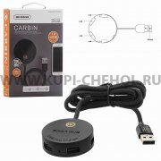 ХАБ USB-разветвитель 4 порта WK Carbin WDC-033 Black 1.2м