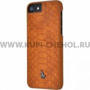 Чехол-накладка Apple iPhone 7 Polo Knight П43092 коричневый