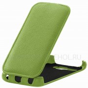Чехол флип Alcatel One Touch 5035D Angell Case салатовый