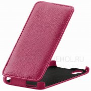 Чехол флип Fly IQ4414 Quad Evo Tech 3 Angell Case розовый