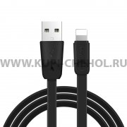 Кабель USB-iP Hoco X9 Rapid Black 2m