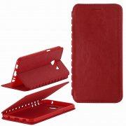 Чехол книжка Samsung C5 П19025 красный