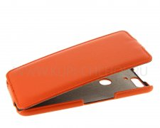 Чехол флип Huawei Nexus 6P UpCase оранжевый