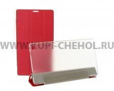 Чехол откидной Lenovo Tab 2 A7-30 Trans Cover красный