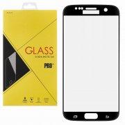 Защитное стекло Samsung Galaxy S7 Edge Glass Pro Full Screen 3D черное 0.33mm