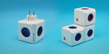 Розетка с USB Power Cube Офис FB0024
