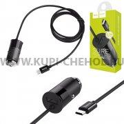 АЗУ Micro USB 3.1A Hoco Z17 Black