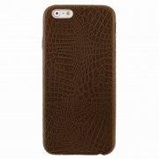 Чехол-накладка Apple iPhone 6/6S Рептилия 9513 коричневый