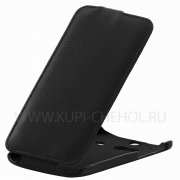 Чехол  откид  HTC ONE  2 M8  UpCase  чёрн