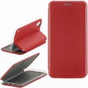 Чехол книжка Apple iPhone X Fashion Case с визитницей красный