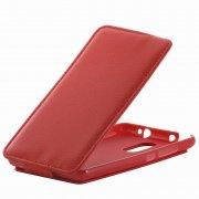 Чехол флип Xiaomi Redmi Note 3 Derbi с силиконовой основой красный