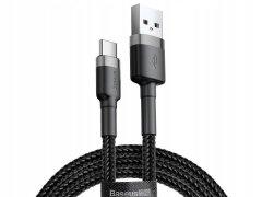 Кабель USB-Type-C Baseus CATKLF-BG1 Gray/Black 1m