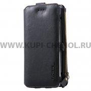 Чехол-портмоне Samsung Galaxy S6 Edge+ G928 Floveme черный