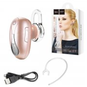 Bluetooth-гарнитура HOCO E12 Rose Gold